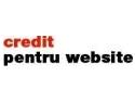 Soluţii de criză - AvantajNet lansează 'Credit pentru Website'