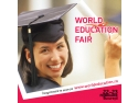 Admitere universitati Marea Britanie. World Education Fair