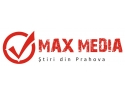 site de stiri. Logo max-media.ro