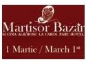 cina romantica. Martisor Bazar la Carol Parc Hotel - martisor de portelan si cina numai in alb si rosu