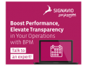 Solutii pentru modernizarea si eficientizarea companiei de la Signavio. WEBINAR GRATUIT (45 minute) Maine, Marti 23 feb la 12.00 ora  din Romania