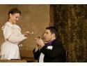 Silviu Biriş şi Cerasela Iosifescu în spectacolul Două poveşti de amor