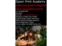 Brand Academy. De la fotografie la print : Epson Print Academy