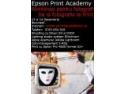 Pentru fotografi! De luna cadourilor, celebrul workshop Epson Print Academy costa doar 200 Lei!