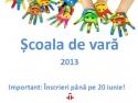 Scoala de vara la Instituto Cervantes din Bucuresti. Cursuri de spaniola pentru copii