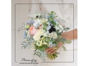 Atelier de design floral, aranjamente florale - Flowers of Joy clock advertisi