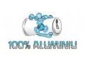 'Aluminiu 100% ' - Recicleaza ! E in puterea ta .