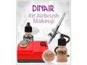 Cupio ro. Kit de airbrush makeup