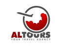 agentie de turism. Logo Altours