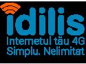Internet. Idilis a lansat pachetele de Internet Nelimitat 4G-14 si Nelimitat 4G-17