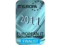 2011. Evolve este unul din finalistii European IT Excellence Awards 2011