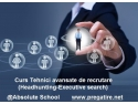 headhunting. Curs recrutare