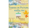 Invata sa pictezi in Tabara de pictura Hobby Art pentru adulti after-work party