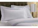 lenjerii damasc. Lenjerii de pat albe din damasc pentru hotel