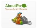 turism cultural. Aboutro.com, logo, turism cultural