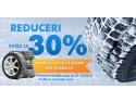 "schimb de anvelope vara-iarna. Campania  ""30% Reducere la anvelope de iarna"""