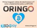 bitcoin. Oringo.ro - electronicele și IT-ul se vând de acum și cu bitcoin