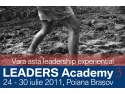 Fundatia LEADERS. LEADERS Academy 3
