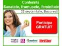 Afla cum sa ai un stil de viata sanatos la o noua conferinta Woman2Woman.ro