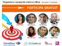 Speakeri conferinta Targetarea in campaniile online si offline - PR2Advertising.ro