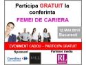 Participa GRATUIT la conferinta