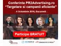 Vino la conferinta PR2Advertising. Iata cine sunt speakerii