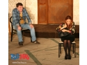 andreea stoiciu. Imagine din spectacolul TOC TOC cu Andrei Duban si Anca Turcasiu