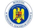 Excelenta Sa dr  Michael Schwarzinger. Primirea de către ministrul Lazăr Comănescu a Secretarului General al OCEMN, Michael Christides