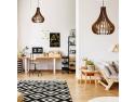 lustre din lemn. Wooden Lamp Design