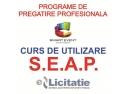 """Curs """"Utilizarea Eficienta a SEAP"""" – aplicatii pe www.e-licitatie.ro – Operatori Economici"""