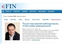 eFin.ro lanseaza sectiunea IMM, dedicata antreprenorilor