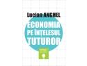 """SNSPA. coperta volumului """"Economia pe intelesul tuturor"""" de Lucian Anghel"""