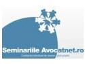 Primul seminar Avocatnet.ro: Contractul individual de munca - ghid practic