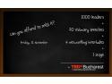 tedxbucharest. Ultimele zile de înregistrare pentru TEDxBucharest 2012