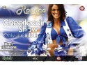 Weekend Inedit la Club Rococo - CHEERLEADING SHOW l!!!!