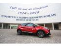 renault  mioveni. Renault România, partener principal al Comitetului Olimpic Sportiv Român, felicită COSR pentru un secol de olimpism în România