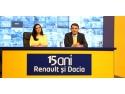 Renault şi Dacia, de 15 ani în prime-time