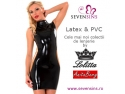 Cele mai noi colectii de lenjerie din latex si PVC la SevenSins.ro!