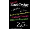 """top fascinatie. Cofetariile Tip Top  se pregatesc de lansarea """"Promotiei Sweet Black Friday""""."""