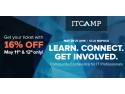 ITCamp. 48 ore cu 16% reducere la ITCamp 2016, conferința de comunitate pentru profesioniștii IT