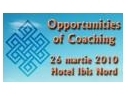 "speaker. Evenimentul interactiv  ""Opportunities of Coaching"" - guest star speaker Julie Hay"