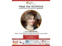 Sonia Nastase, Country Manager Nespresso Romania, este speakerul evenimentului Meet the WOMAN!