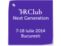 club 99. Scoala de vara HR Club Next Generation 2014