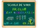 analize HR. Şcoală de vară gratuită pentru tinerii pasionaţi de HR