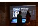 Un sistem interactiv interesant ce face parte din expozitia permanenta recent deschisa la Cetatea de Scaun a Sucevei
