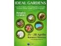 emerald garden. Expozitia IDEAL GARDENS va fi organizata in perioada 25 – 28 aprilie, la ROMAERO BANEASA