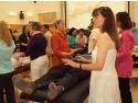 Imagine din timpul unui seminar de vindecare reconectiva