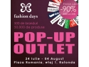virgiliu pop.  Reduceri de pana la 90% in primul Pop-Up Outlet Fashion Days