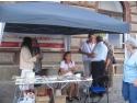 Curtea Brancoveneasca. Stand de sanatate Asociatia pentru Sanatate, educatie si Familie