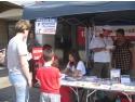 Targu Mures. Stand de sanatate Asociatia pentru Sanatate, educatie si Familie